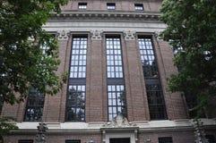 Détails de bibliothèque de Harvard Widener de campus de Harvard dans l'état de Cambridge Massachusettes des Etats-Unis Photographie stock