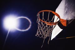 Détails de cercle de basket-ball Image libre de droits