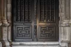 Détails de Chambre à Bruges, Belgique image libre de droits