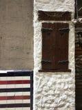 Détails de façade à Barcelone Photos stock