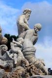 Détails de fontaine, Vienne Images stock