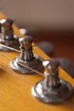 Détails de guitare électrique Photographie stock libre de droits