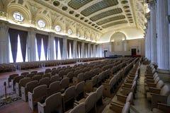 Détails de l'intérieur du palais roumain du Parlement photos stock