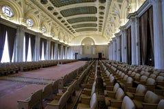 Détails de l'intérieur du palais roumain du Parlement photographie stock libre de droits