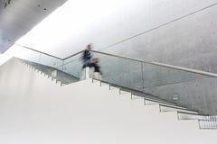 Détails de la balustrade et des escaliers Photo stock