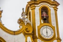 Détails de la ville de Tiradentes image libre de droits
