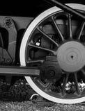 Détails de locomotive à vapeur polonaise photographie stock libre de droits