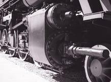 Détails de locomotive à vapeur polonaise image libre de droits