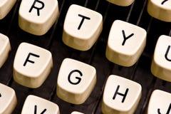 Détails de machine à écrire Photo stock