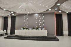 Détails de mariage, accessoires pour épouser le hall photos stock