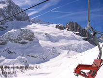 Détails de Marmolada de glacier images libres de droits
