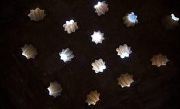 Détails de Nasrid Photos libres de droits