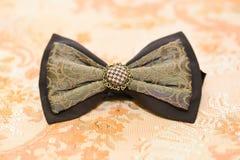 Détails de noeud papillon Photographie stock libre de droits
