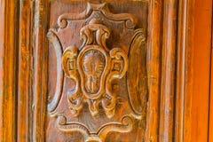 Détails de porte antique images libres de droits