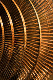 Détails de rotor de générateur Photos stock