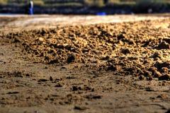 Détails de sable ou de gravier Photo libre de droits
