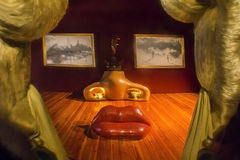 Détails de Salvador Dali Museum dans Figueras Photo stock