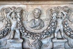 Détails de sarcophage Photos stock