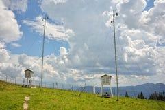 Détails de station météorologique Images stock