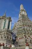 Détails de temple de Wat Arun, Bangkok Photo stock