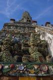 Détails de temple de Wat Arun, Bangkok Images libres de droits