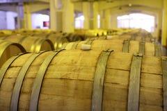 Détails de vieux barils en bois Photographie stock libre de droits