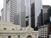 Détails des bâtiments à Pittsburgh du centre Image libre de droits