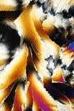 Détails des cristaux de glace Images libres de droits