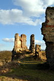 Détails des ruines Photos stock