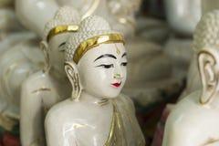 Détails des statues de Bouddha à vendre Image libre de droits