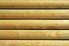 Détails du mur en bois Images stock