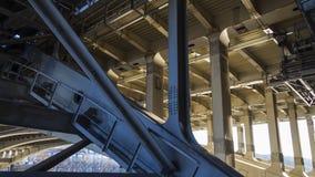 Détails du pont en acier Photographie stock