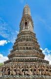 Détails du temple d'arun de wat, temple bouddhiste à Bangkok Photo libre de droits