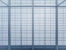 Détails en acier d'architecture de cadre de modèle de bâtiment moderne Photos stock
