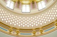 Détails en gros plan d'architecture, capitol d'état de l'Iowa Images libres de droits