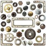 Détails en métal Photographie stock