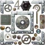 Détails en métal image libre de droits