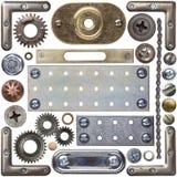 Détails en métal photographie stock libre de droits