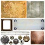 Détails en métal Photos stock