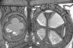 Détails en pierre découpés Images stock