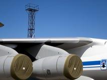 Détails et pièces d'avions Images libres de droits
