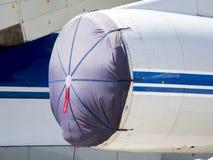 Détails et pièces d'avions Photographie stock libre de droits