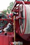 Détails et structure du camion de pompiers photographie stock