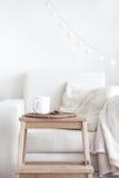 Détails intérieurs confortables photographie stock libre de droits