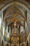 Détails intérieurs de Sint-Bartholomeuskerk Image libre de droits