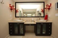 Détails luxueux de salle de bains Image libre de droits