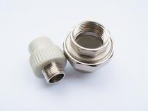 Détails pour des tuyaux Image stock