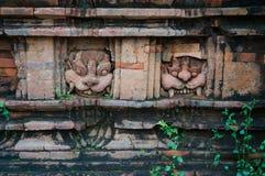 Détails sur un temple à mon sanctuaire de fils, Vietnam Photos libres de droits