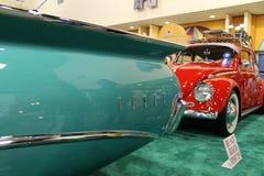 Détails verts d'arrière d'Edsel Image stock