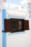 Détails Windows de bâtiments historiques de Rhodos Grèce Photos libres de droits